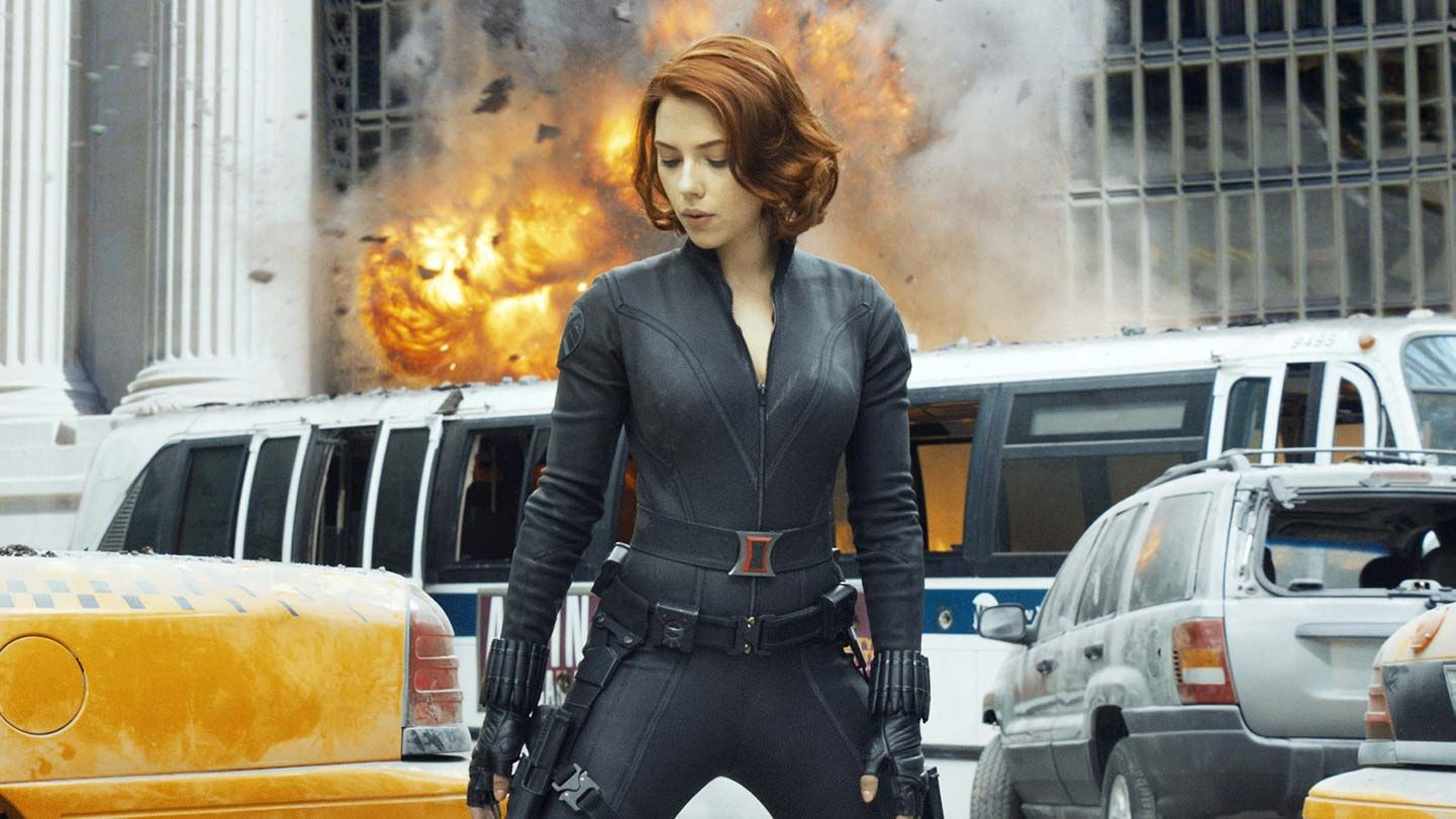 """Scarlett Johansson in """"Marvel's The Avengers."""""""