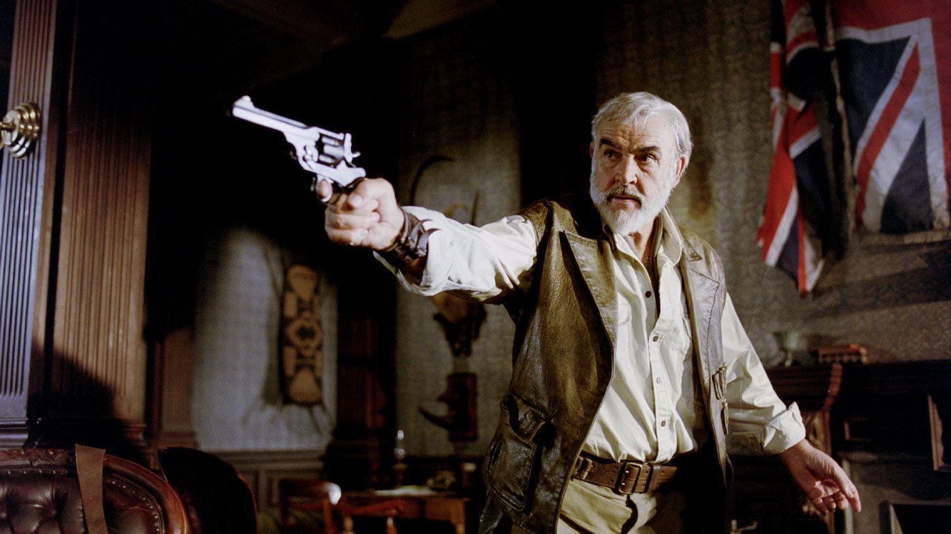 "Sean Connery in ""The League of Extraordinary Gentlemen."""