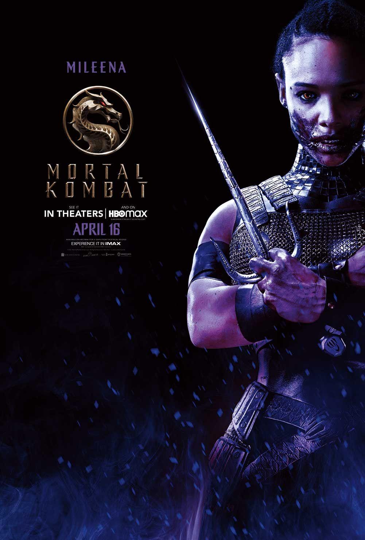 "Sisi Stringer as Mileena in ""Mortal Kombat."" © Warner Bros."