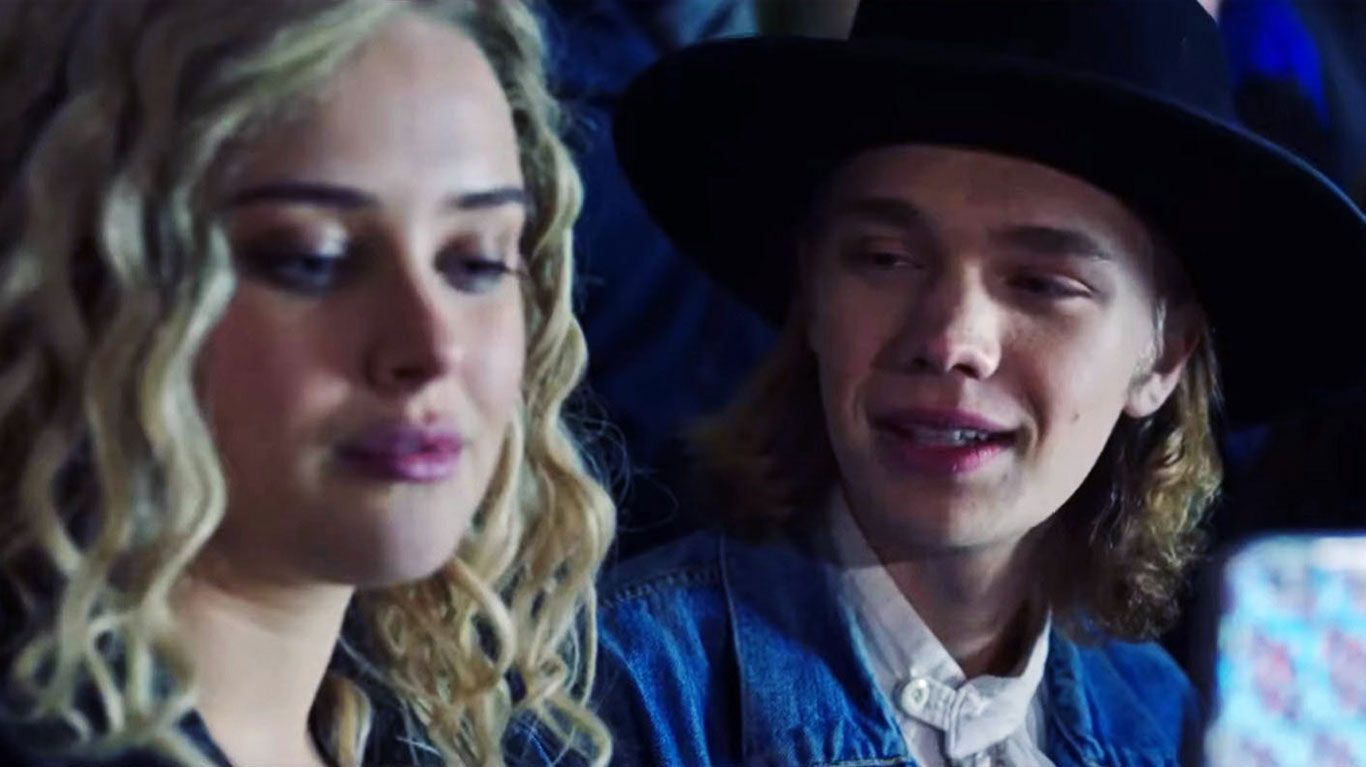 """Katherine Langford and Charlie Plummer in """"Spontaneous."""""""