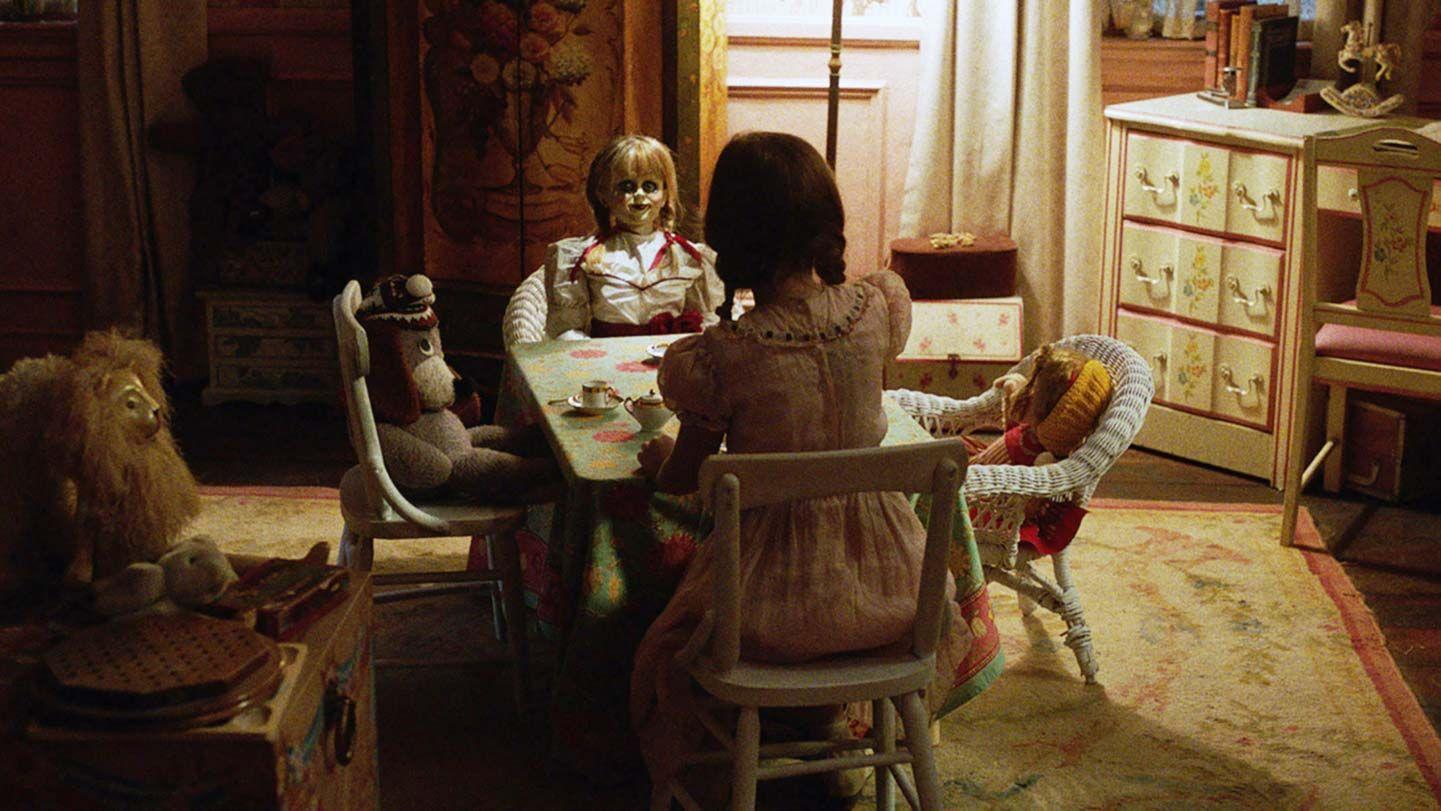 "Tea Party Scene from ""Annabelle: Creation."""