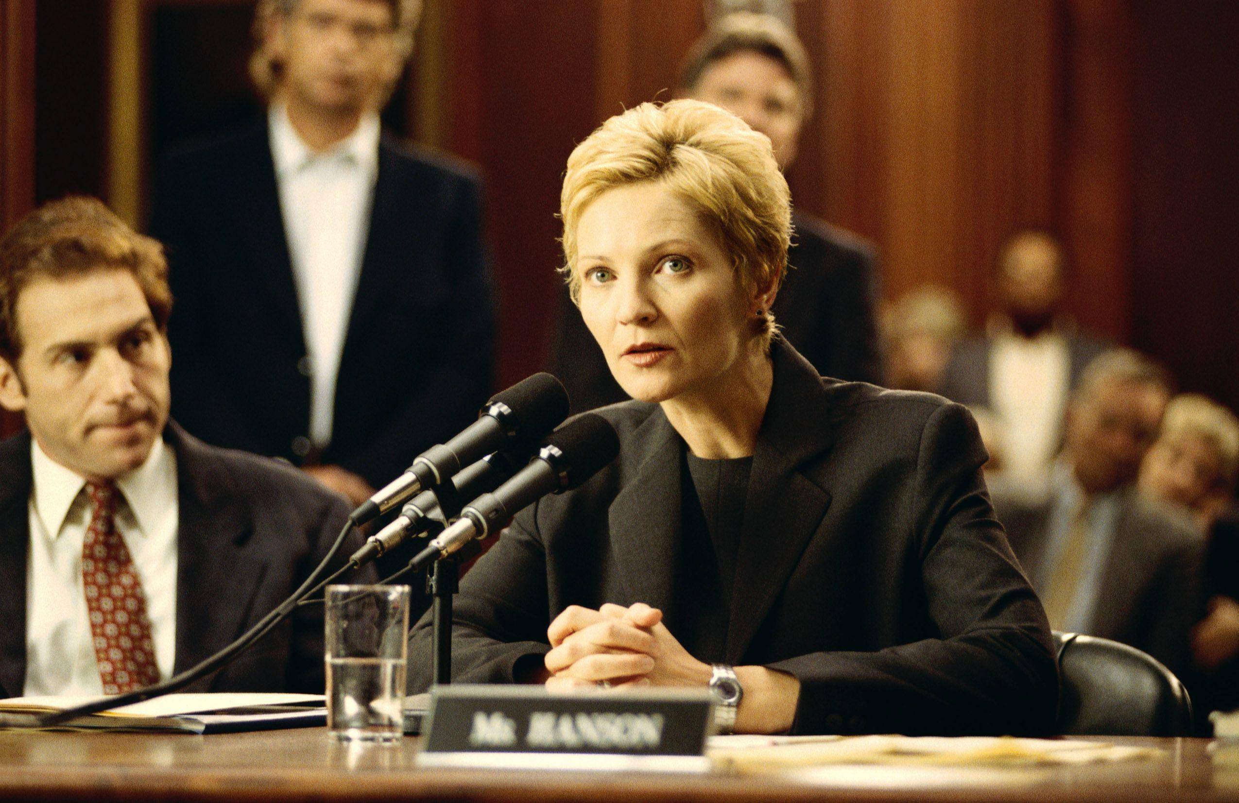 """Joan Allen in """"The Contender."""""""