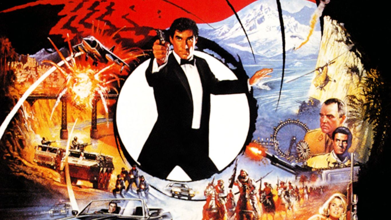 """Key art for """"The Living Daylights."""""""