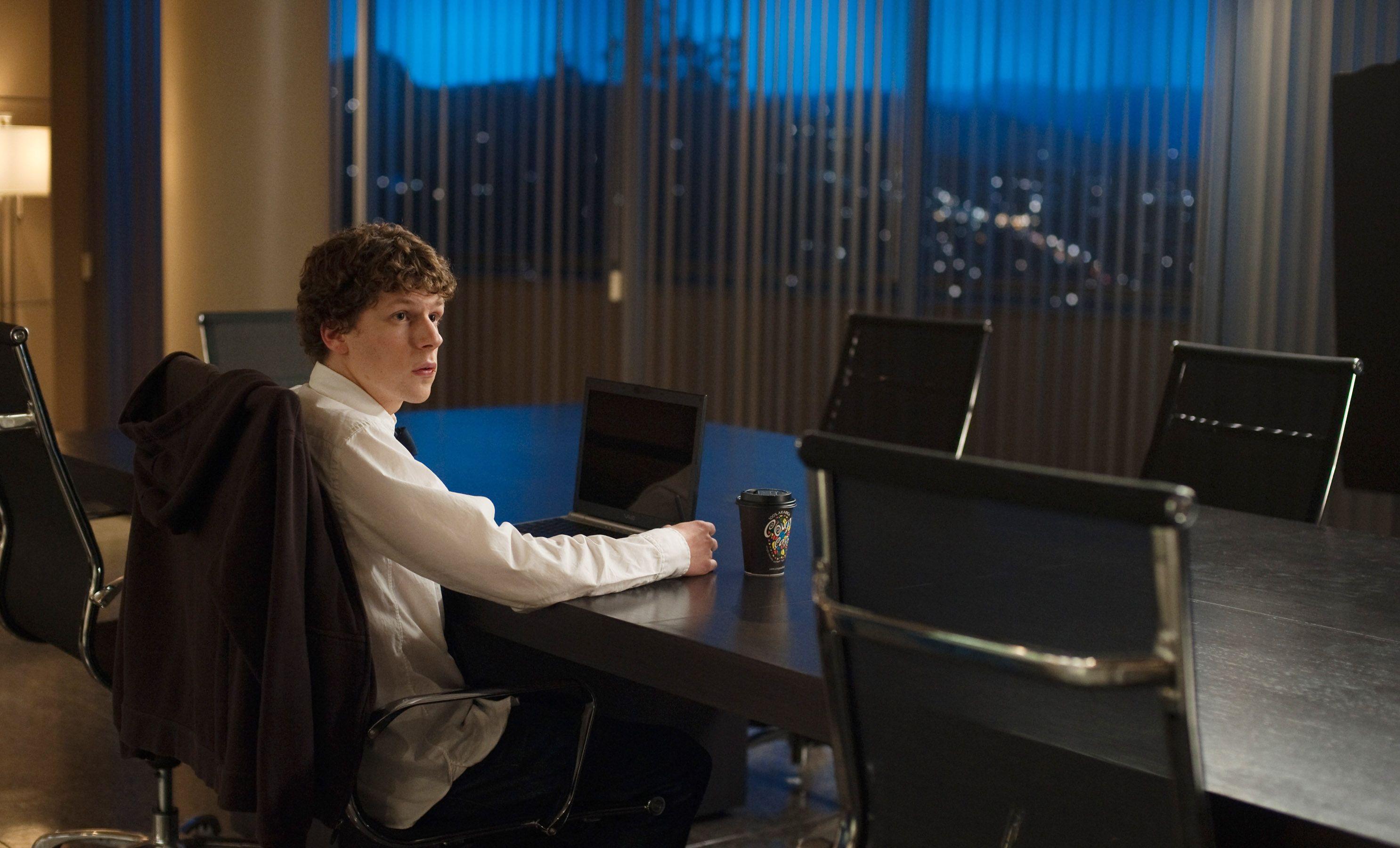 """Jesse Eisenberg in """"The Social Network."""""""