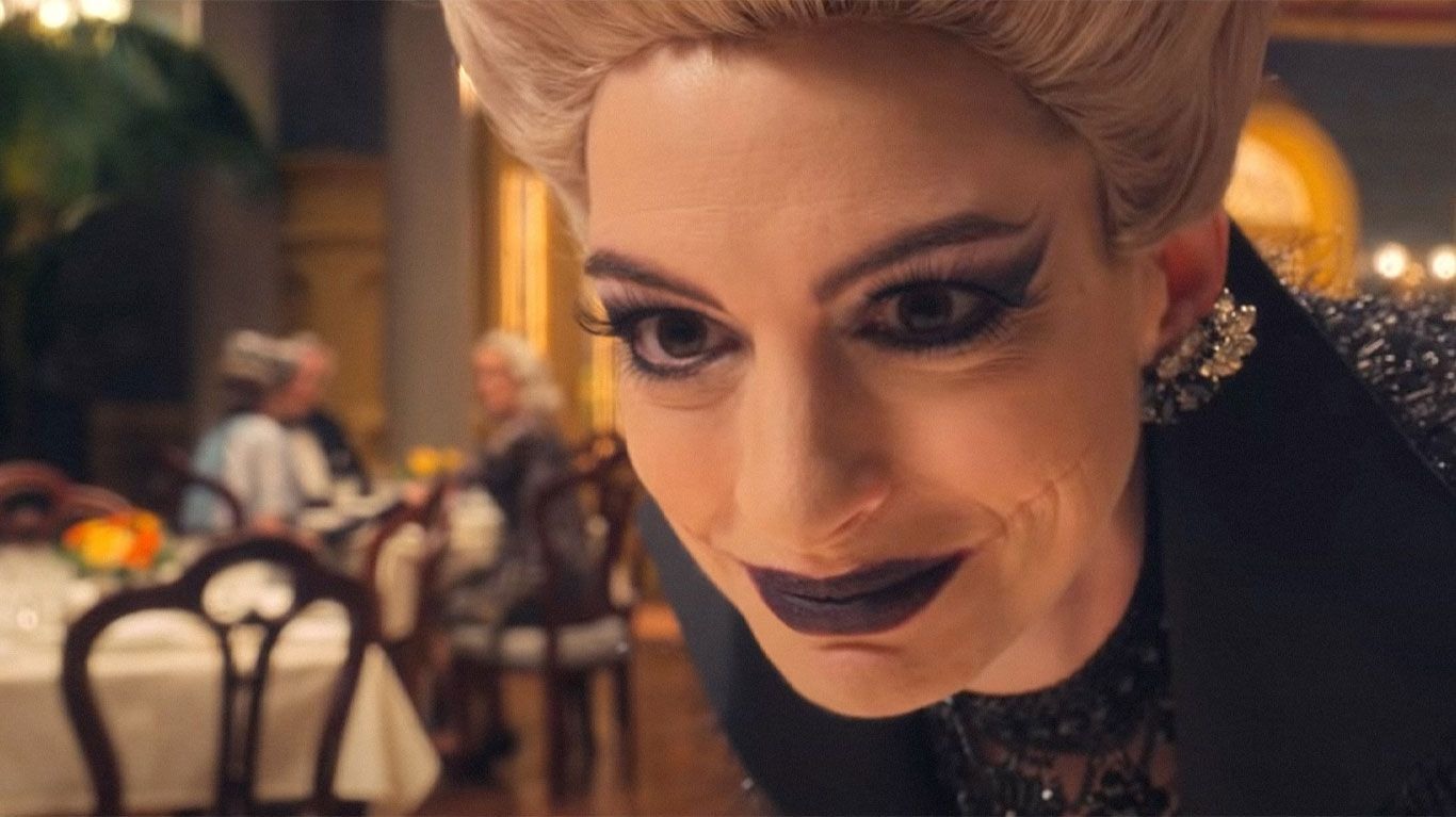 """Anne Hathaway in """"Roald Dahl's The Witches."""""""