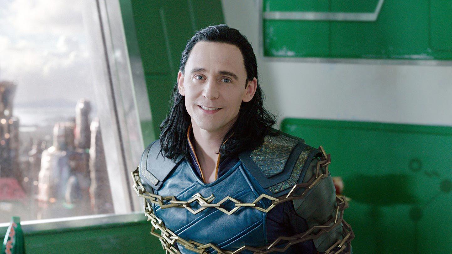 "Tom Hiddleston in ""Thor: Ragnarok."""