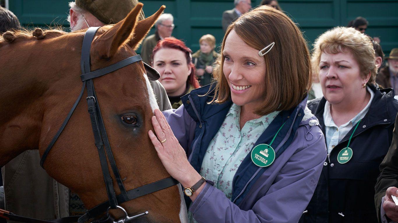 """Toni Collette in """"Dream Horse."""""""