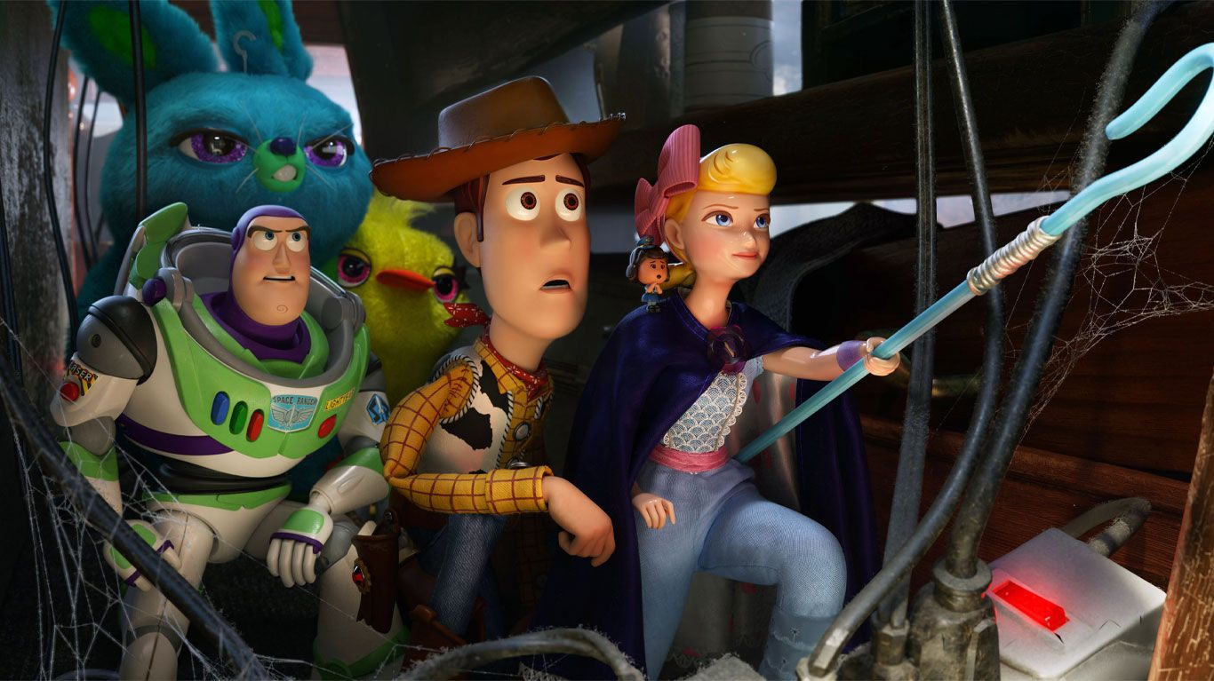 """A scene from """"Toy Story 4."""""""