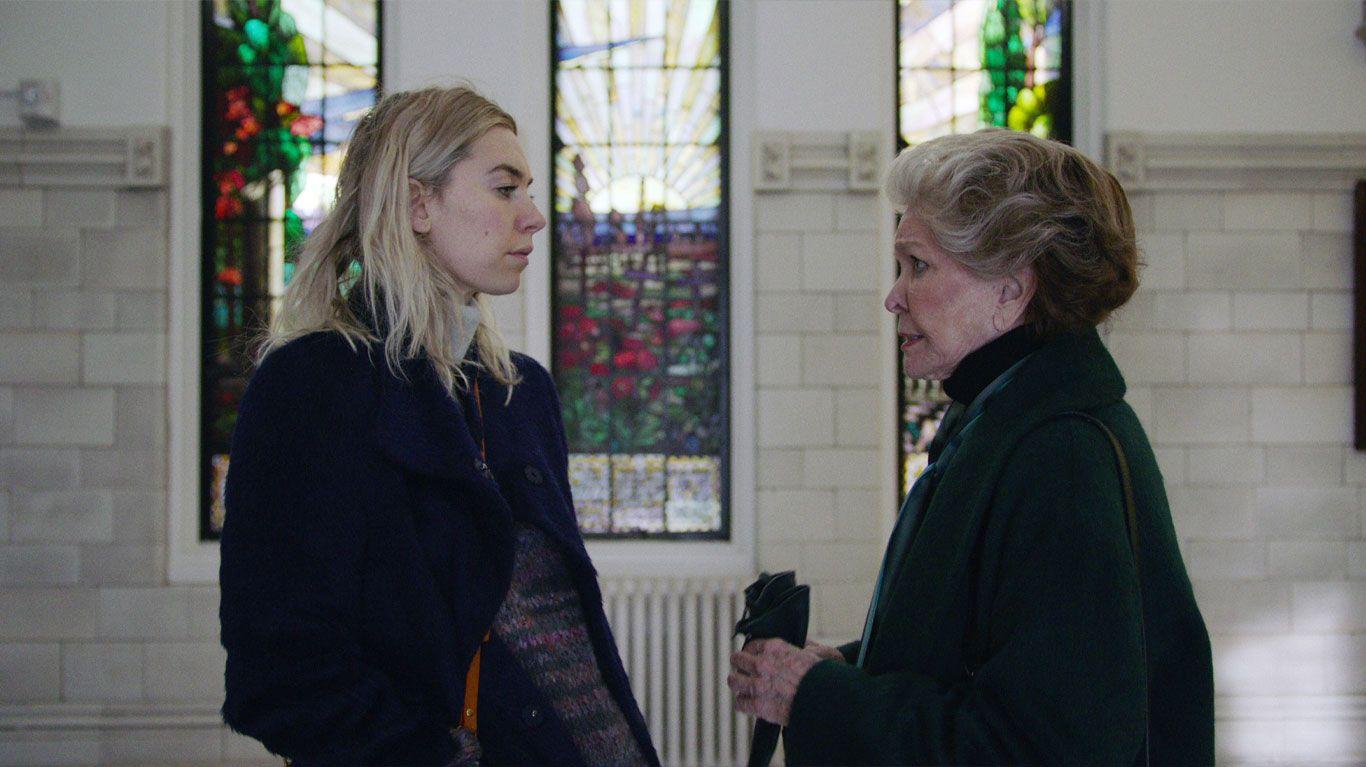 """Vanessa Kirby, Ellen Burstyn in """"Pieces of a Woman."""""""