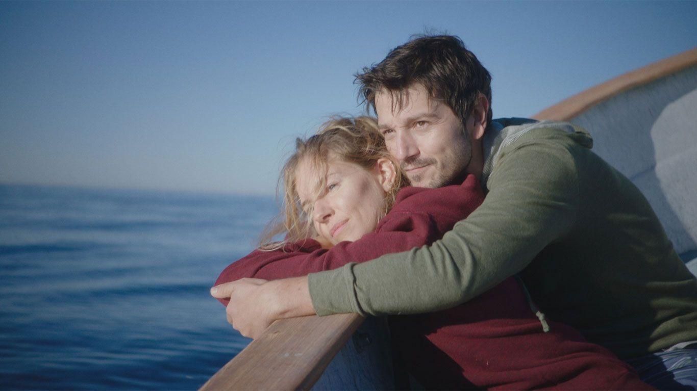"""Sienna Miller and Diego Luna in """"Wander Darkly."""""""