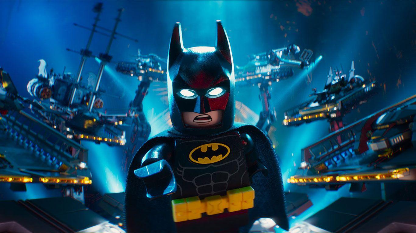 "Batman (voice: Will Arnett) in ""The LEGO Batman Movie."""