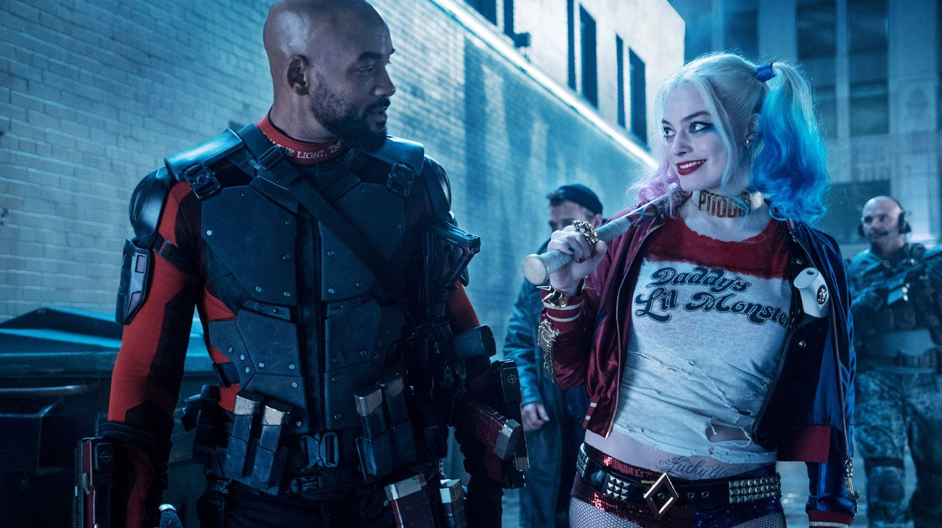 """Will Smith, Margot Robbie in """"Suicide Squad."""""""