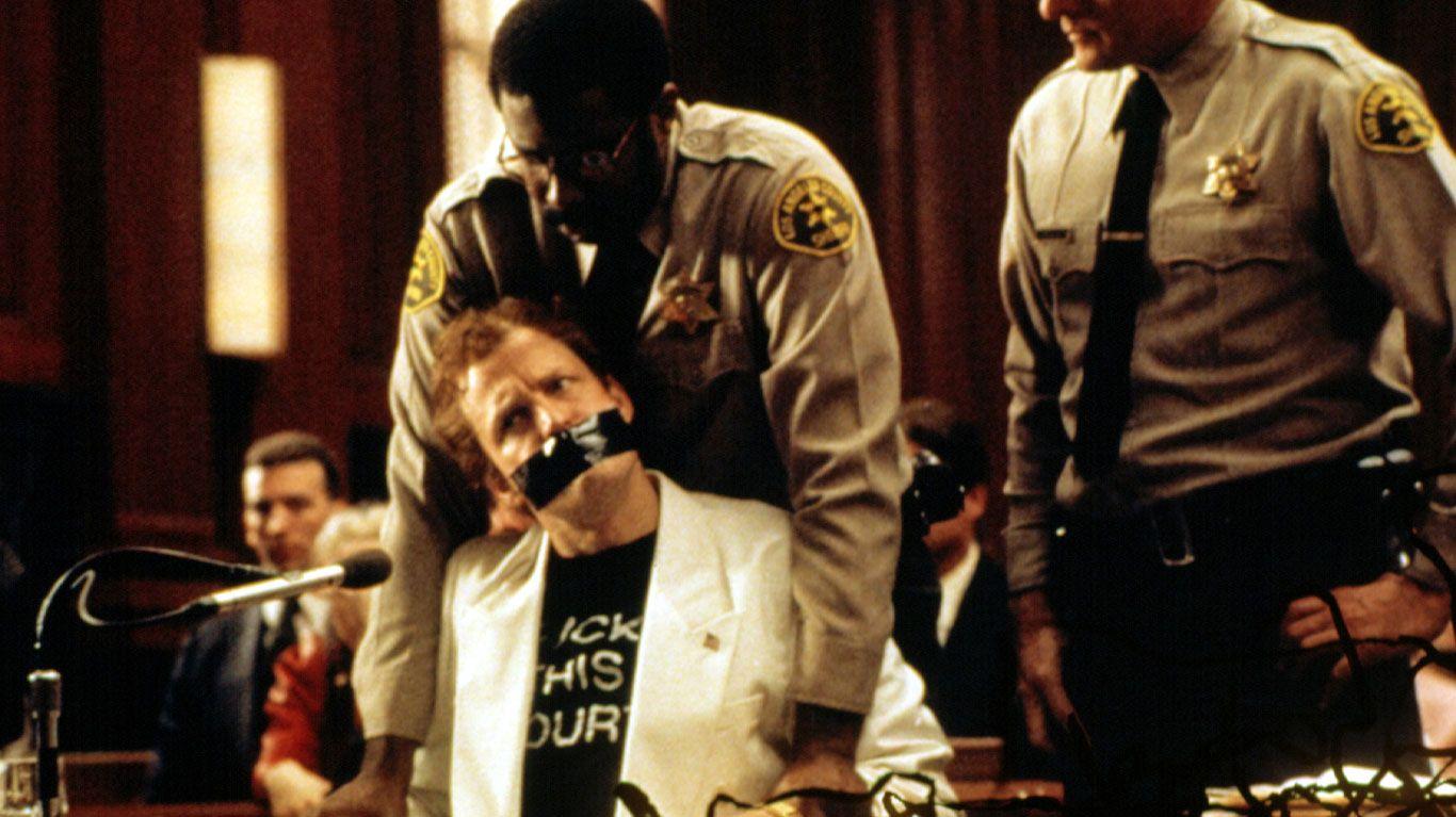 """Woody Harrelson in """"The People vs. Larry Flynt."""""""