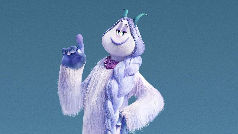 "Meechee (voiced by Zendaya) in ""Smallfoot."""