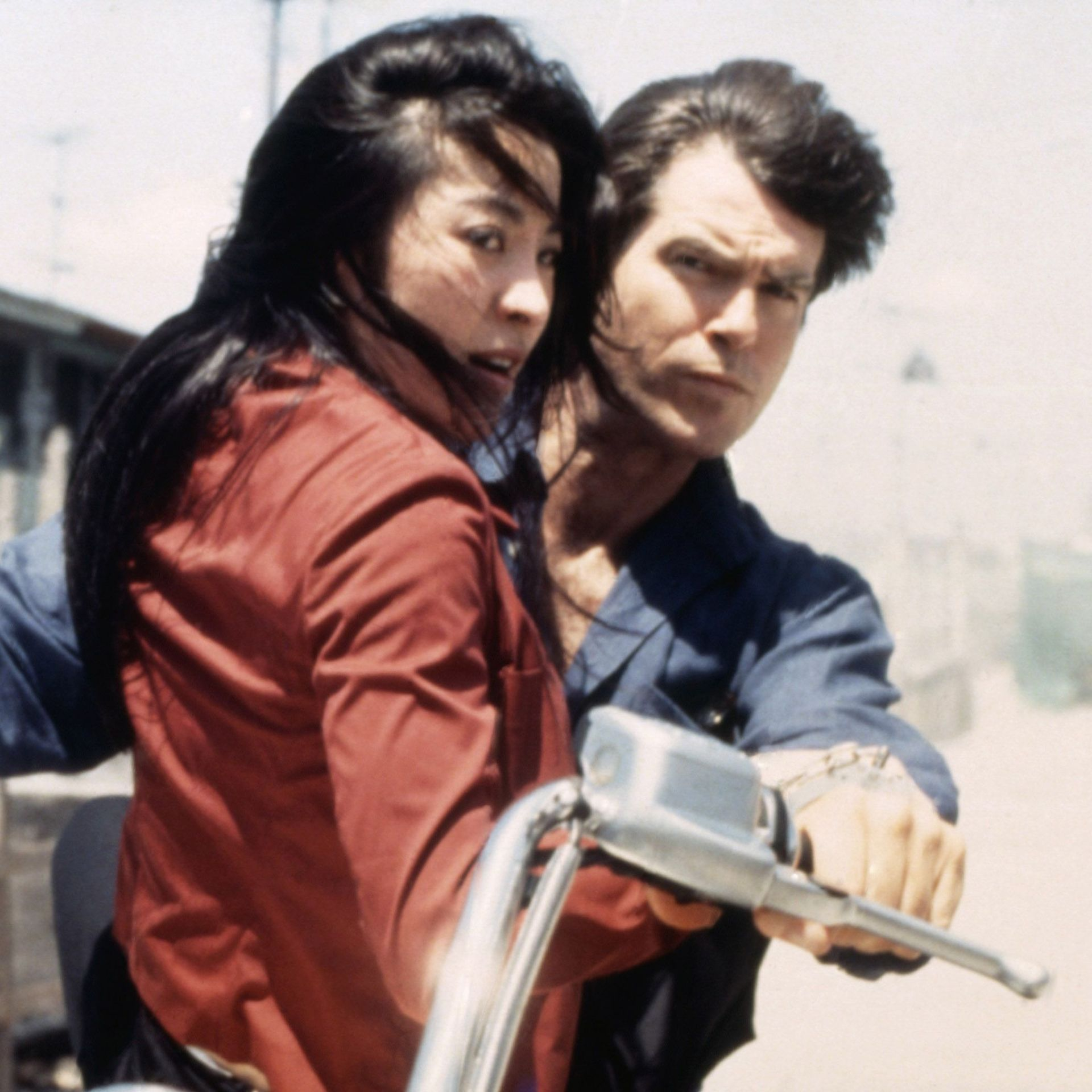Best Bond Stunts Tomorrow Never Dies