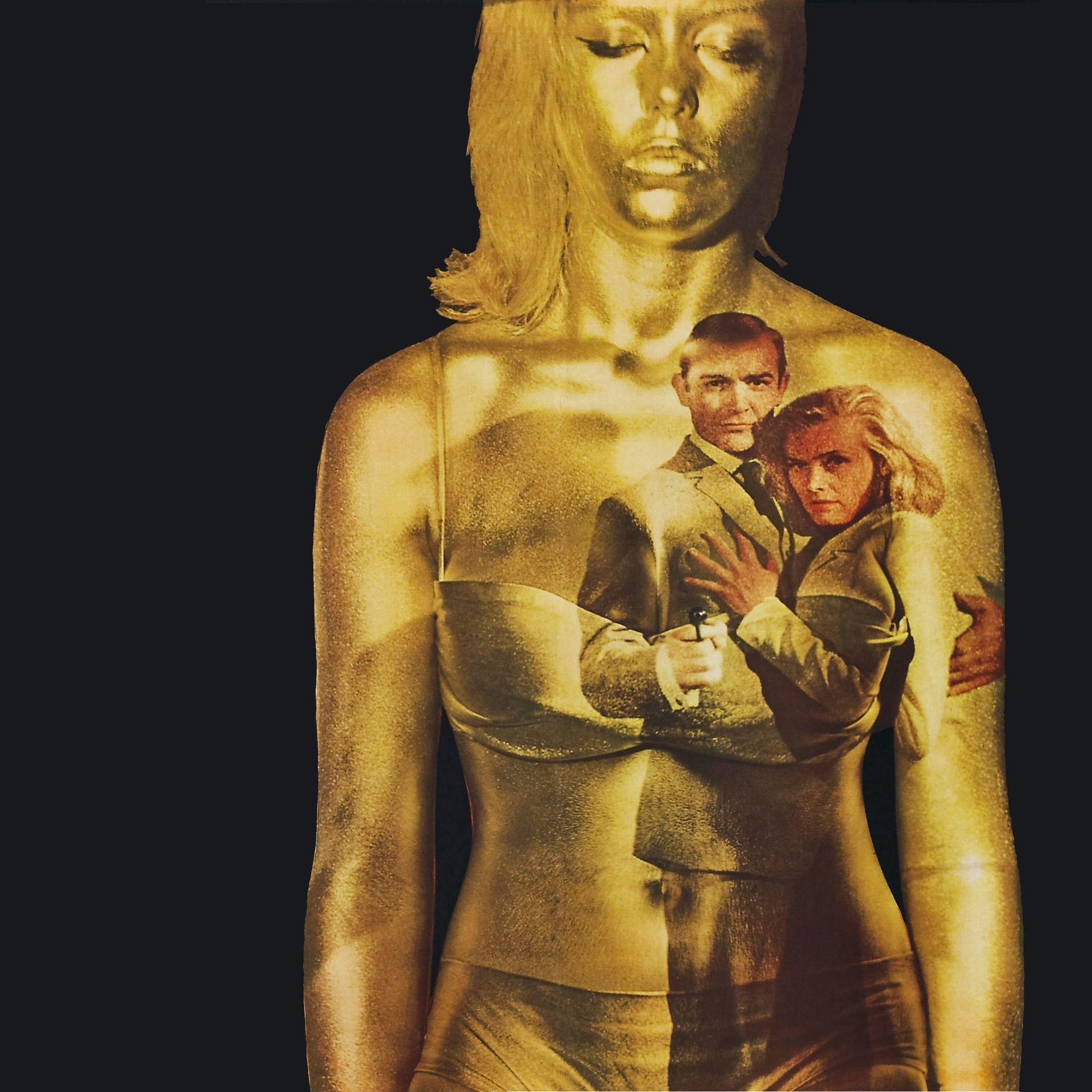 """Best Bond Themes - Poster Art for """"Goldfinger"""""""