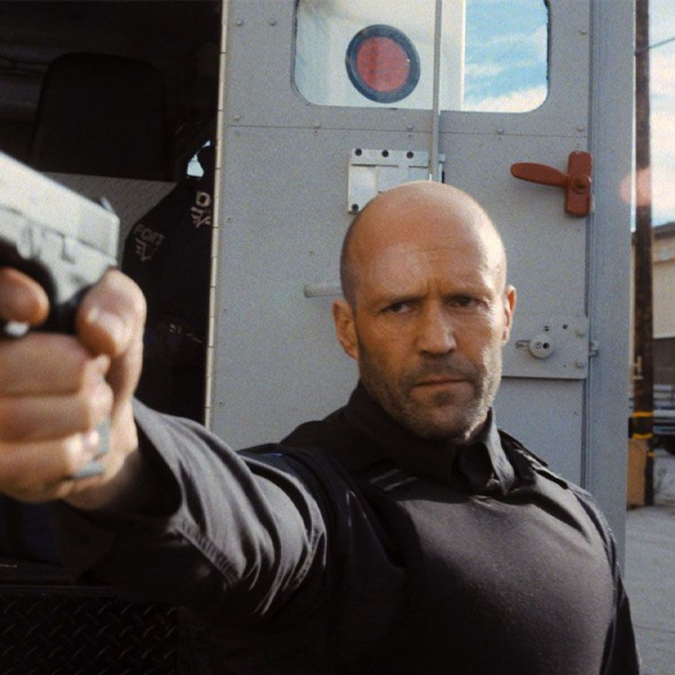 "Box Office No. 1 - Jason Statham in ""Wrath of Man."""
