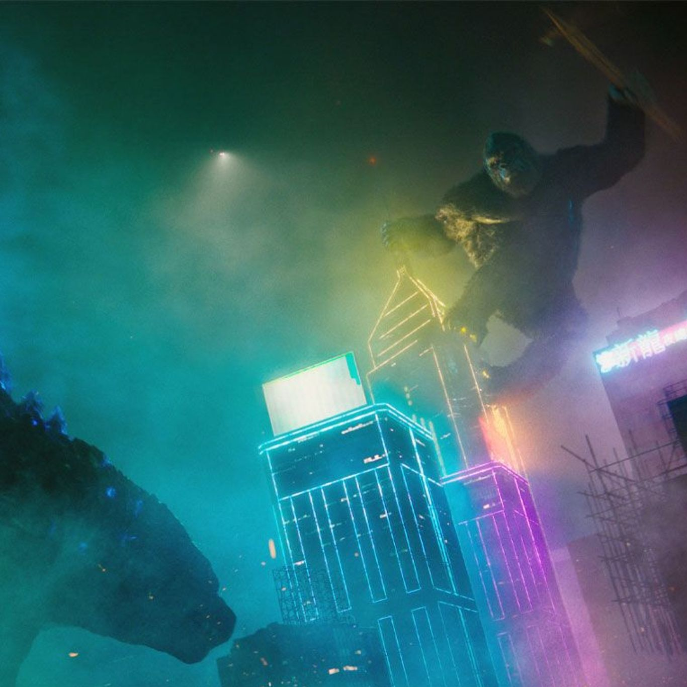 "Box Office No. 1 - Godzilla takes on Kong in ""Godzilla vs. Kong."""