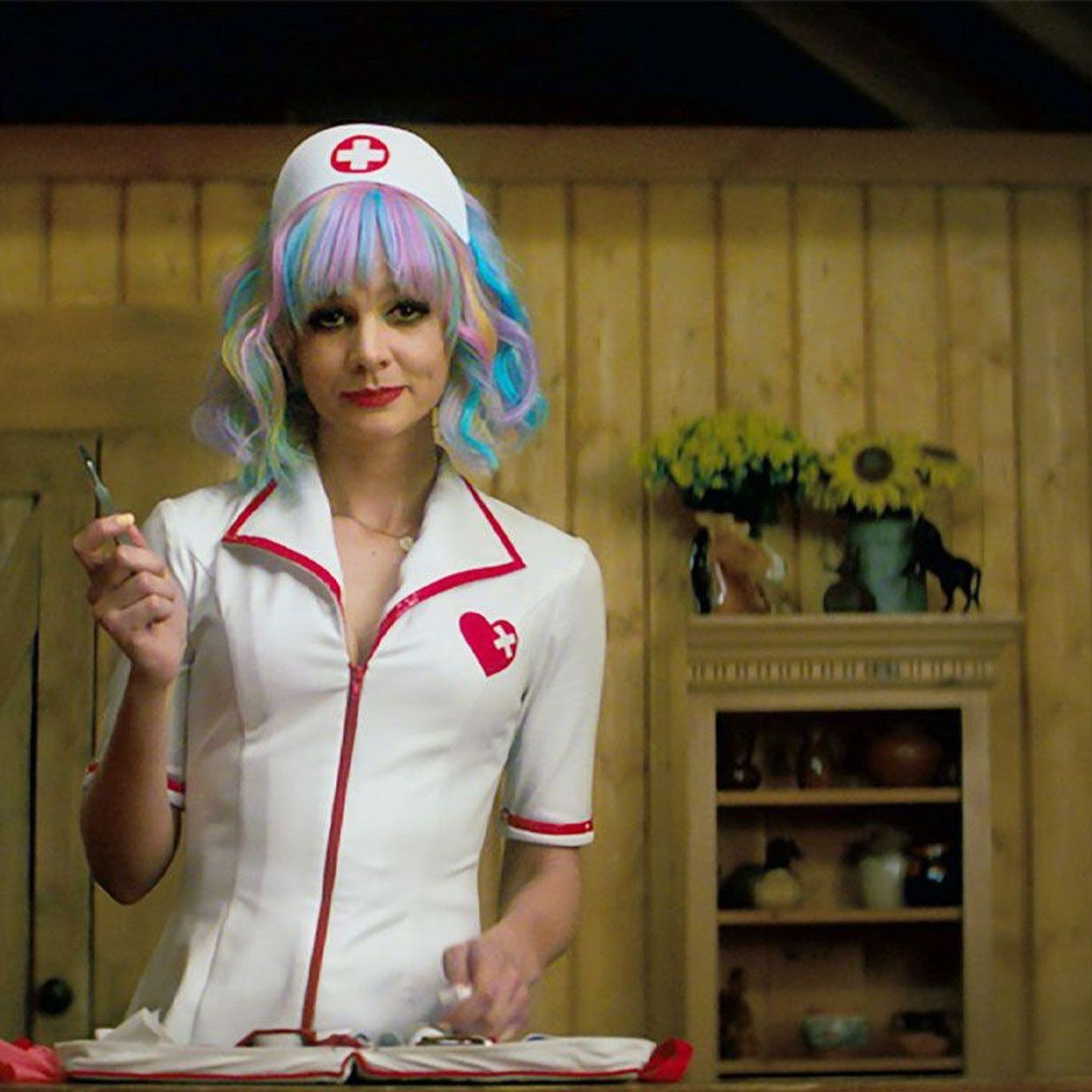 "Carey Mulligan in ""Promising Young Woman."""