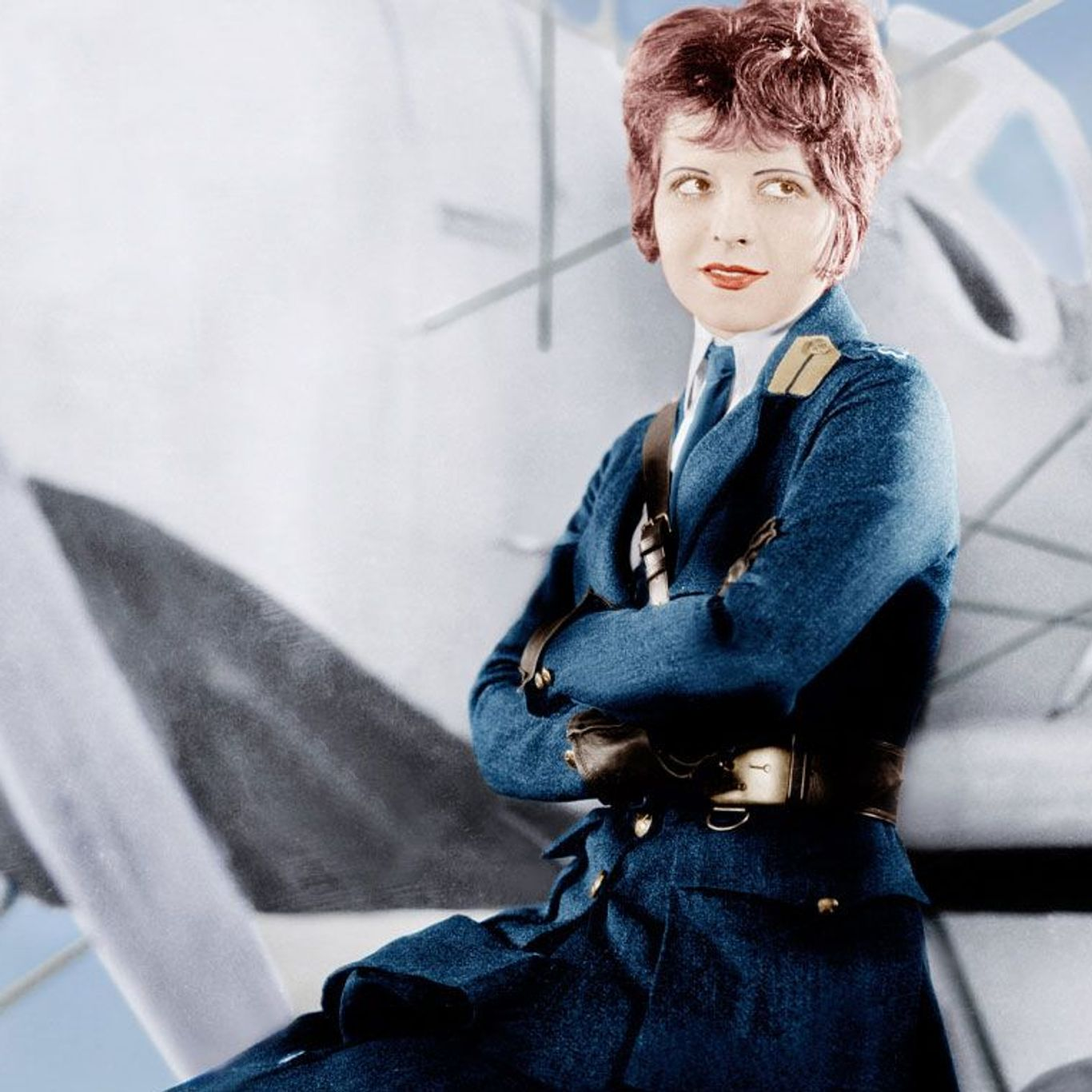 """Best Picture Winners - Clara Bow in poster art for """"Wings."""""""