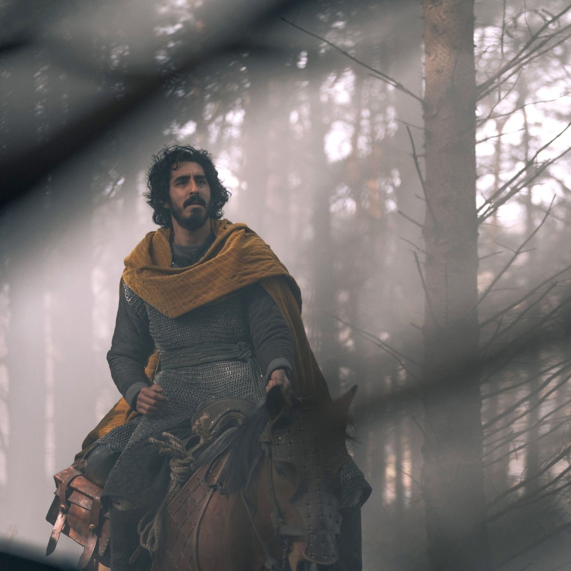 """A24 Movies - Dev Patel in """"The Green Knight."""""""