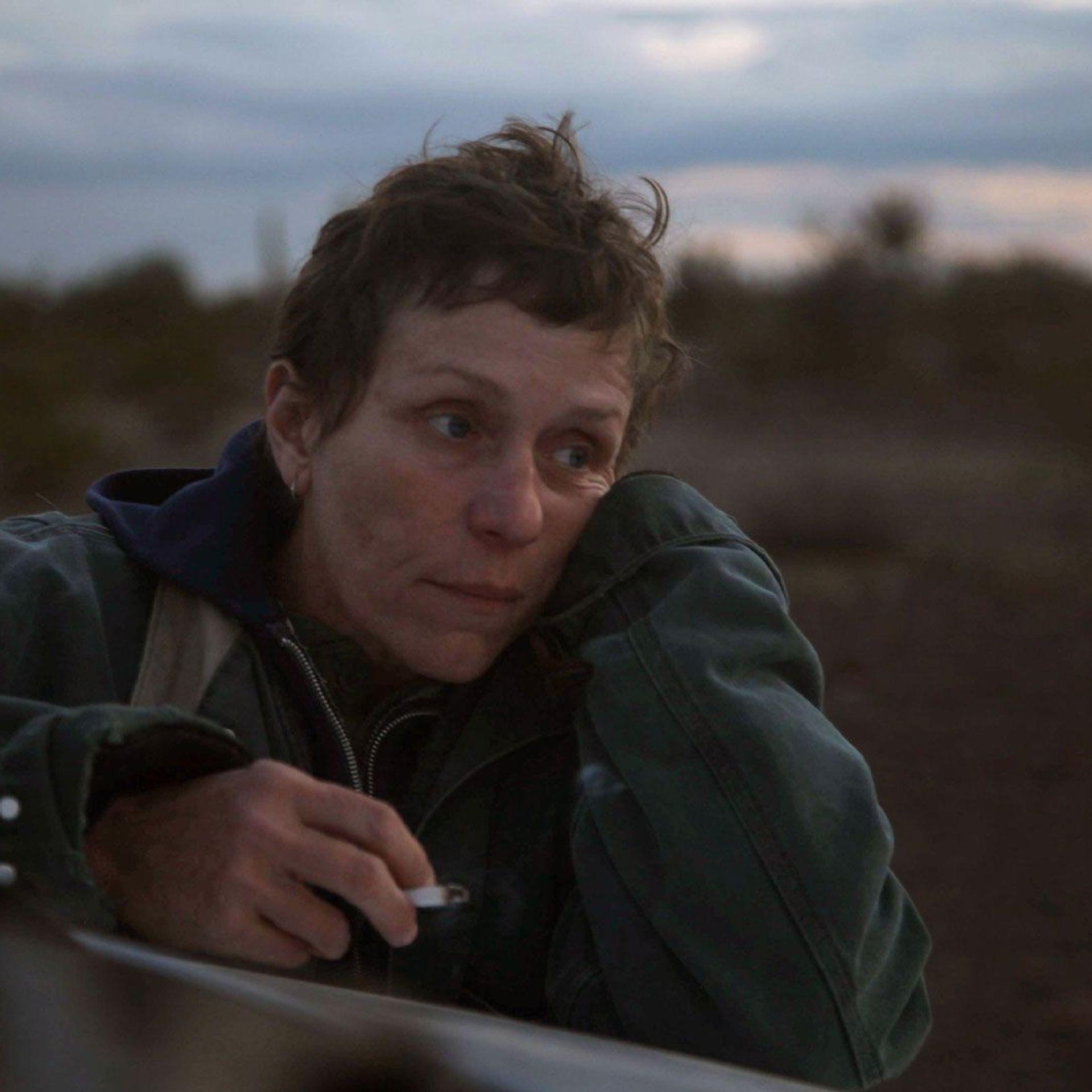 """Frances McDormand in """"Nomandland."""""""