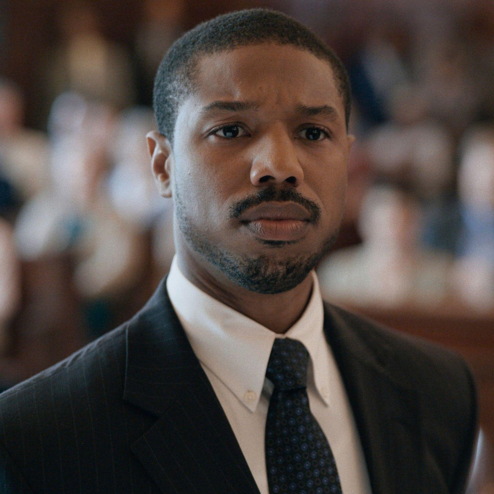 """Michael B. Jordan in """"Just Mercy."""""""