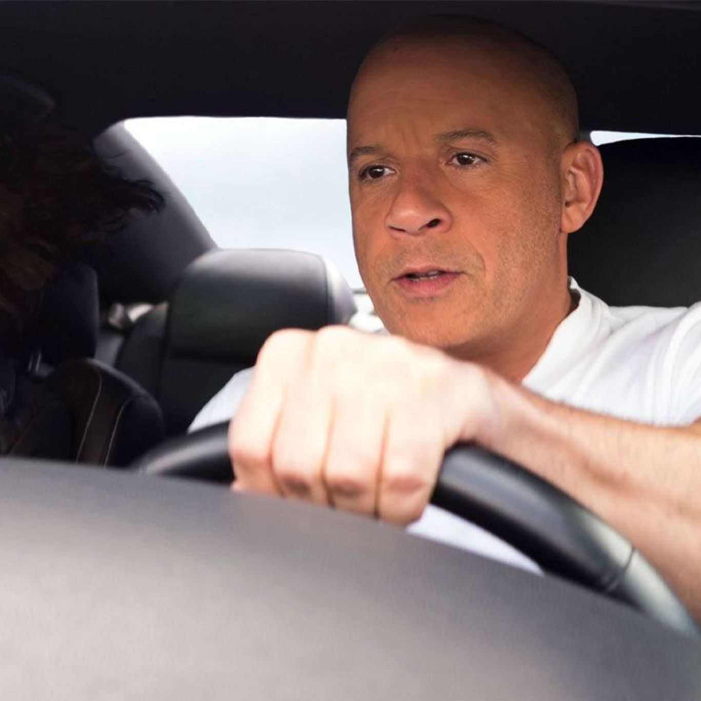 """Box Office Global Hit - Michelle Rodriguez and Vin Diesel in """"F9."""""""