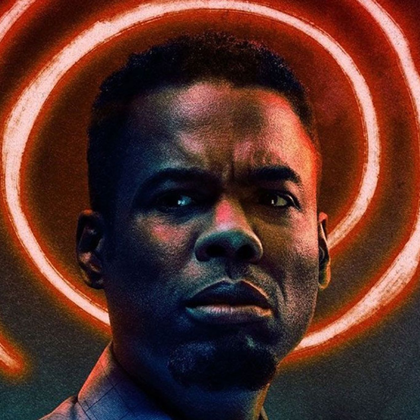 """SNL Players Go Dramatic - Chris Rock in poster art for """"Spiral."""""""