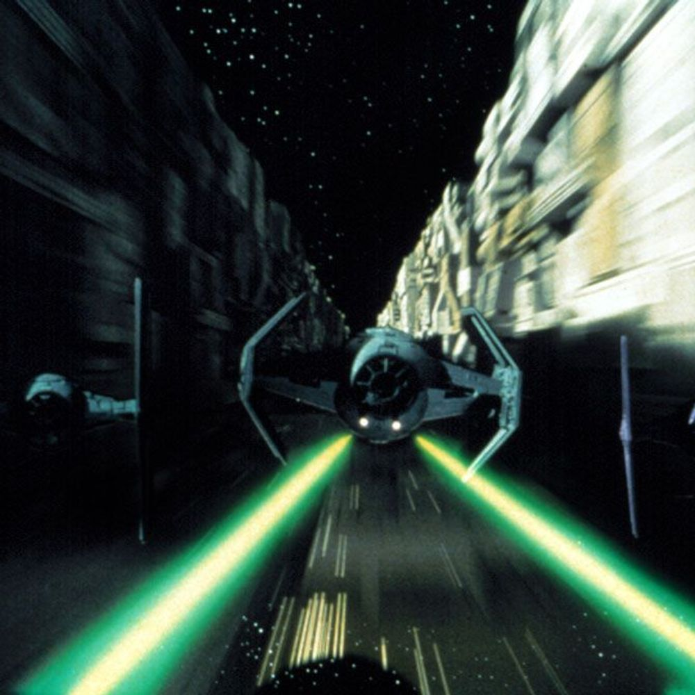 """Iconic Movie Themes - A scene from """"Star Wars."""""""