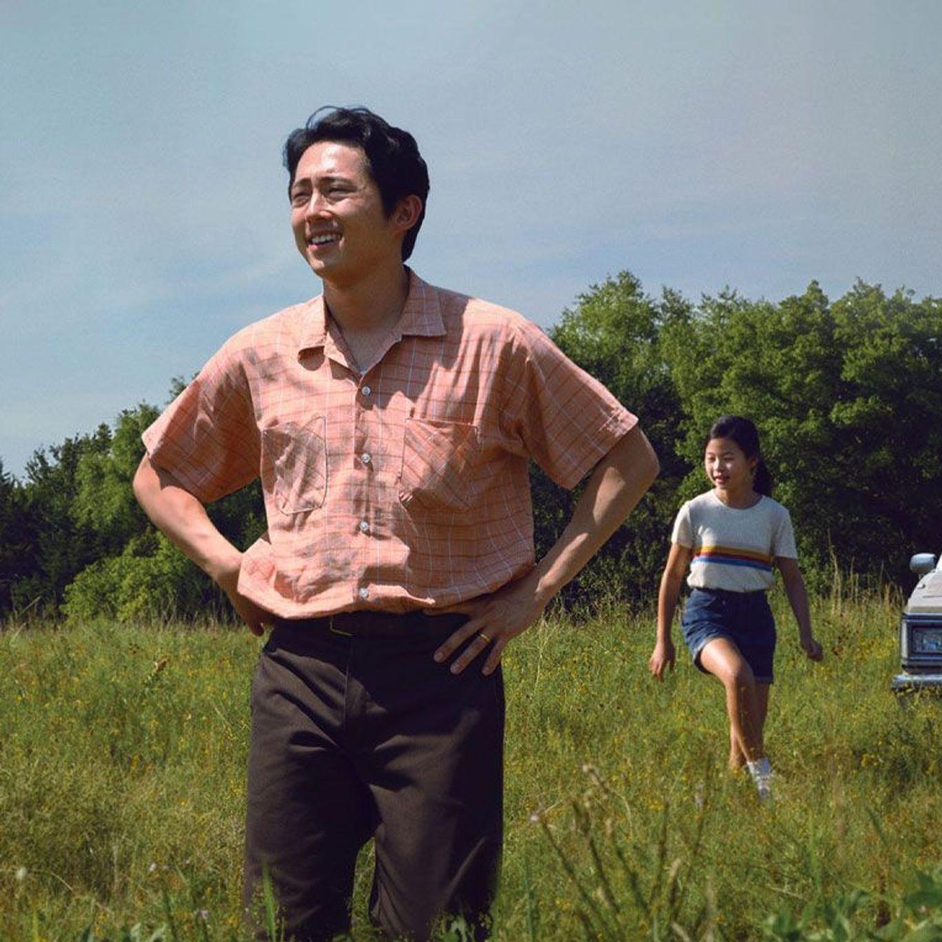 "Steven Yeun in ""Minari."""