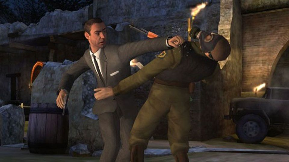 """Gameplay from """"007: From Russia With Love."""""""