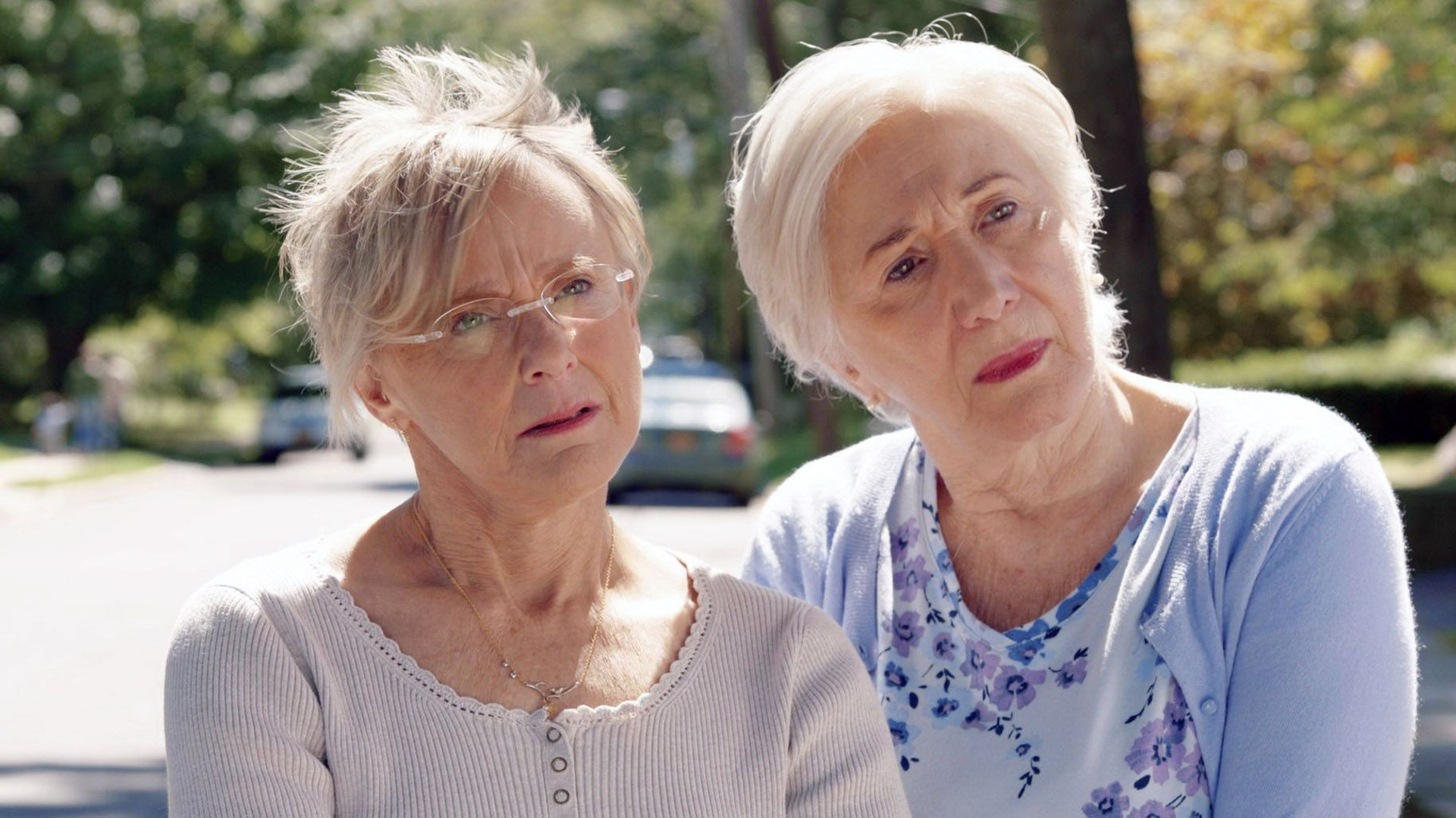 CHANGE IN THE AIR, from left: Mary Beth Hurt, Olympia Dukakis, 2018.
