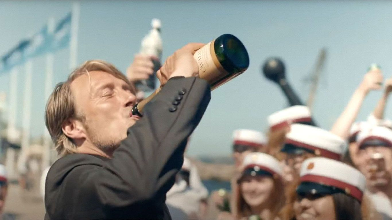"""Mads Mikkelsen in """"Another Round."""""""