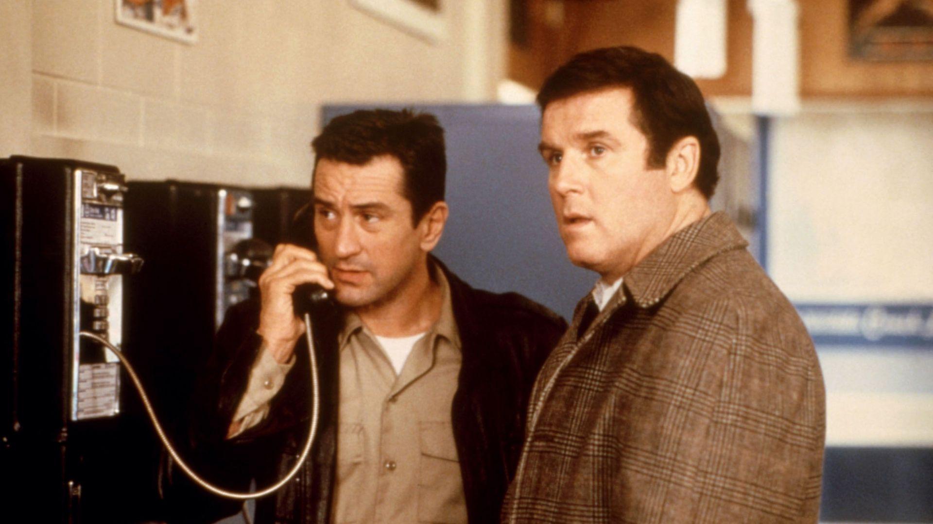 "Robert De Niro, Charles Grodin in ""Midnight Run."""