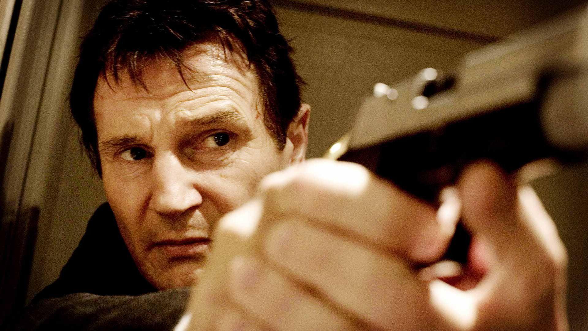 """Liam Neeson in """"Taken."""""""