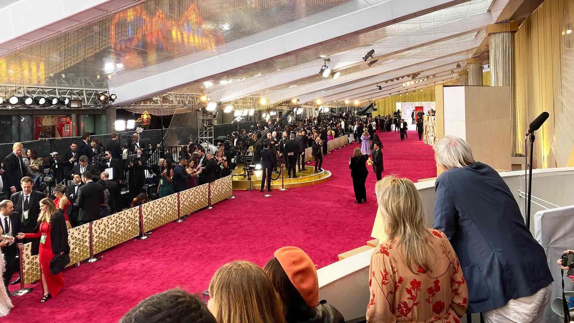 Noovie at the 2020 Oscars.