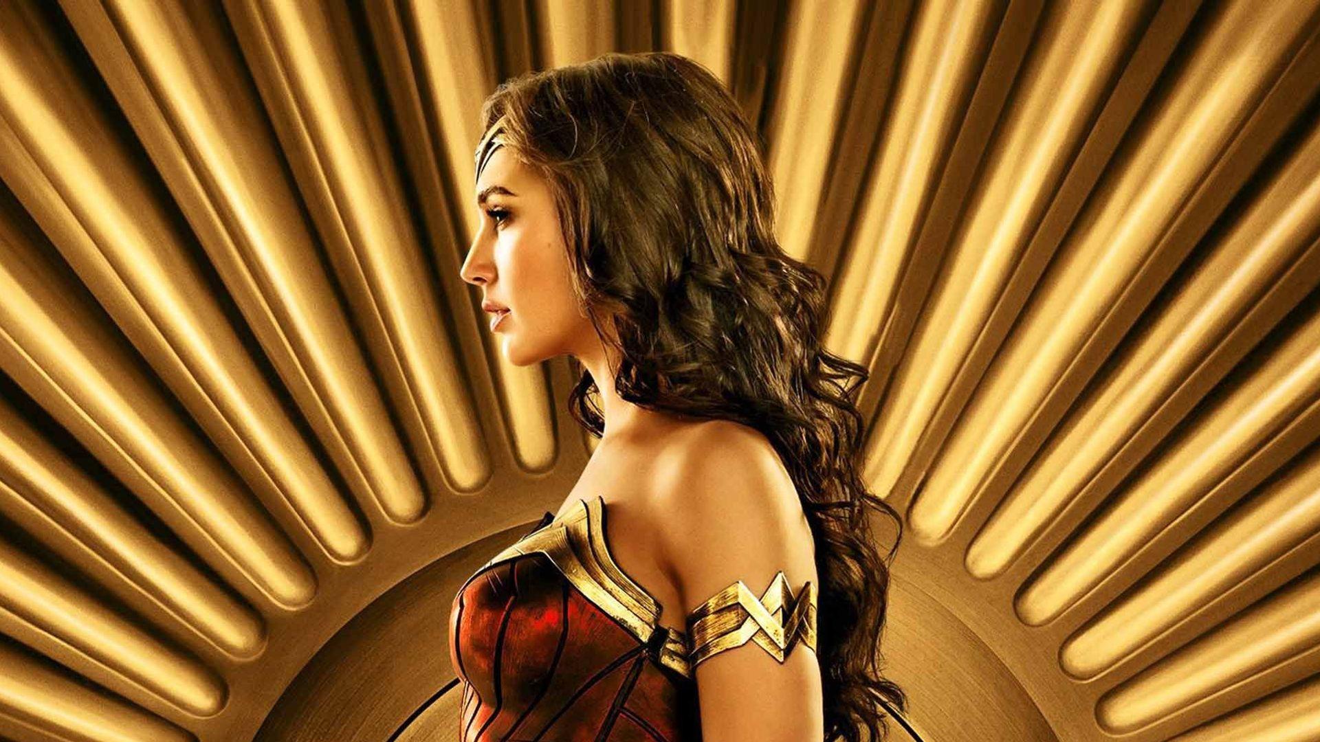 "Key Art for ""Wonder Woman 1984."""