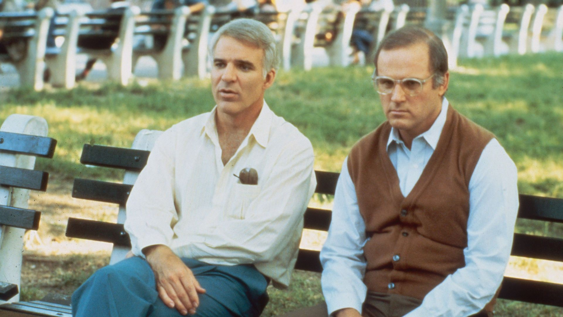 """Steve Martin and Charles Grodin in """"The Lonely Guy."""""""