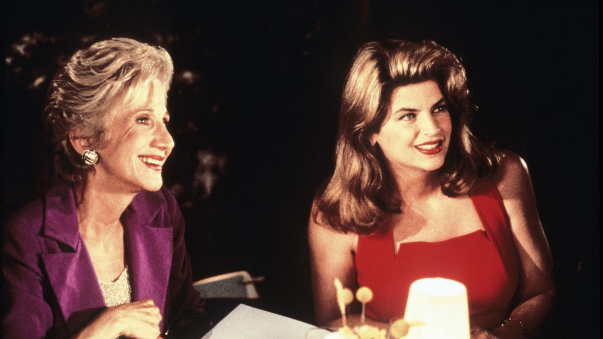 LOOK WHO'S TALKING NOW, form left: Olympia Dukakis, Kirstie Alley, 1993.