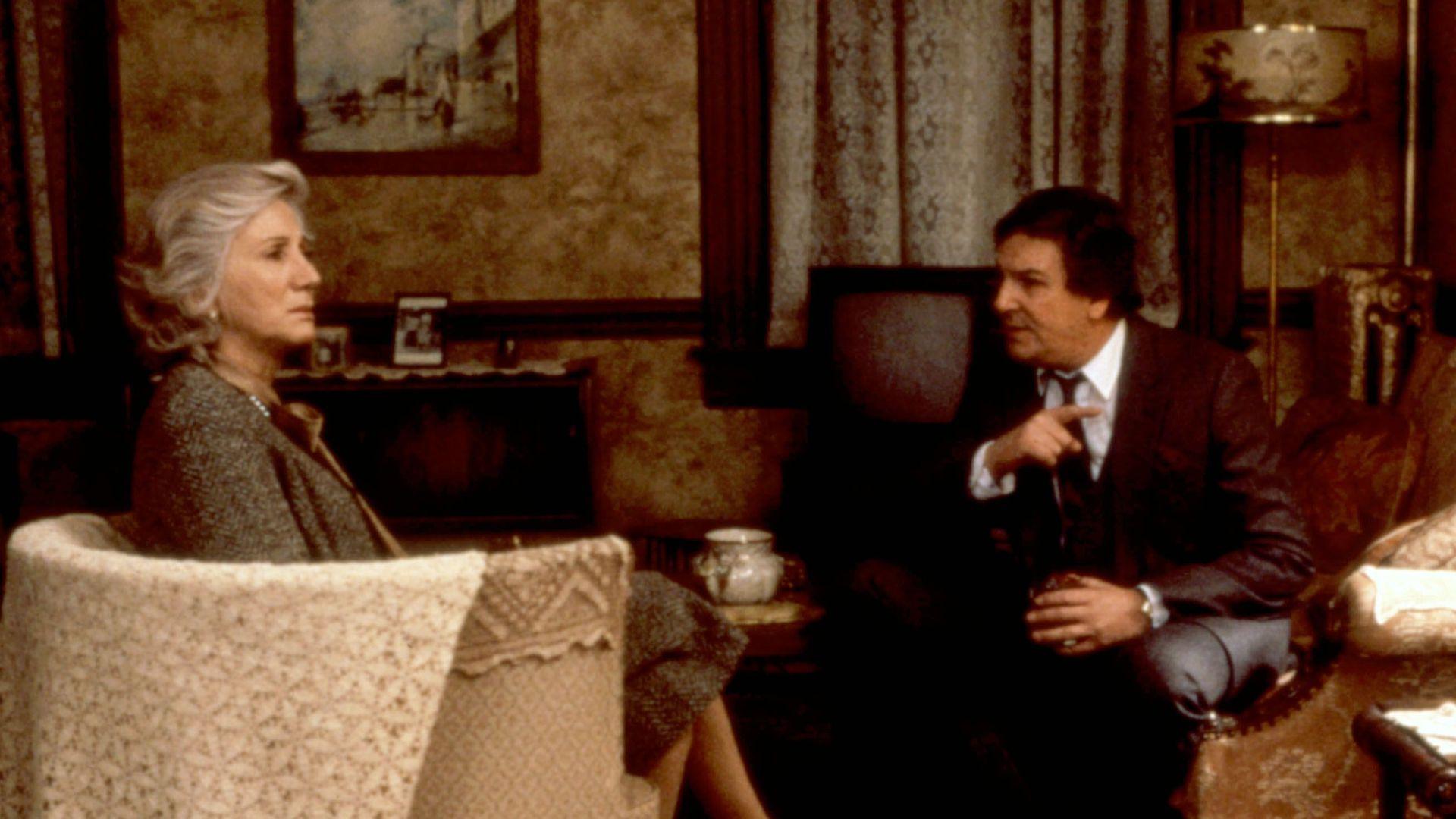 MOONSTRUCK, Olympia Dukakis, Danny Aiello, 1987.