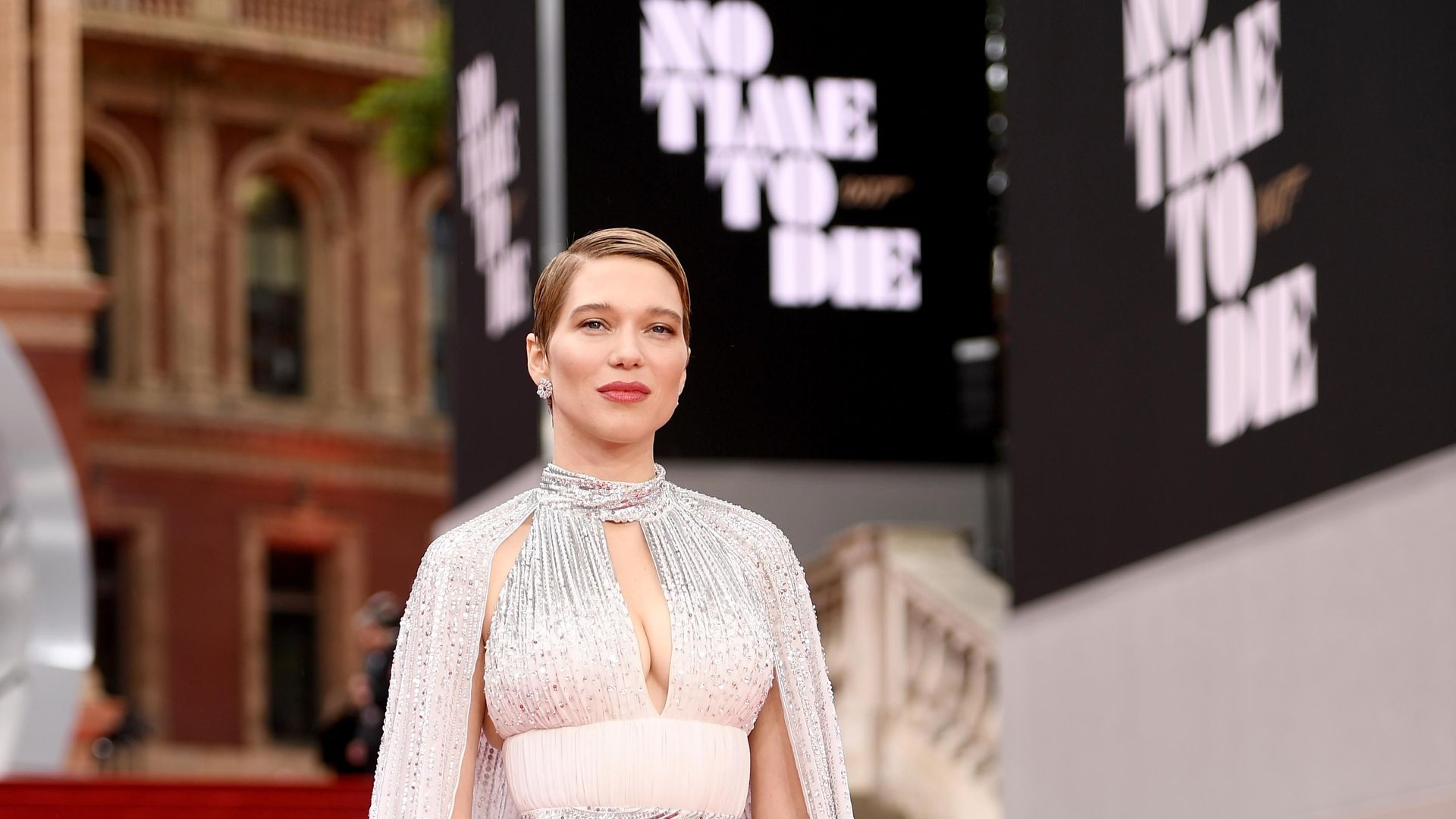 """Léa Seydoux attends the World Premiere of """"NO TIME TO DIE"""""""