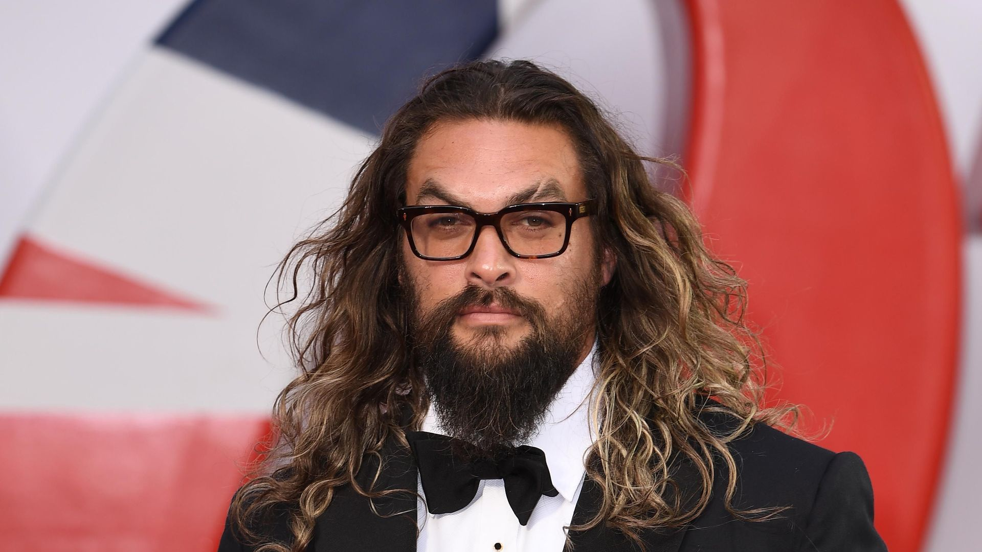 """Jason Momoa attends the World Premiere of """"NO TIME TO DIE"""""""