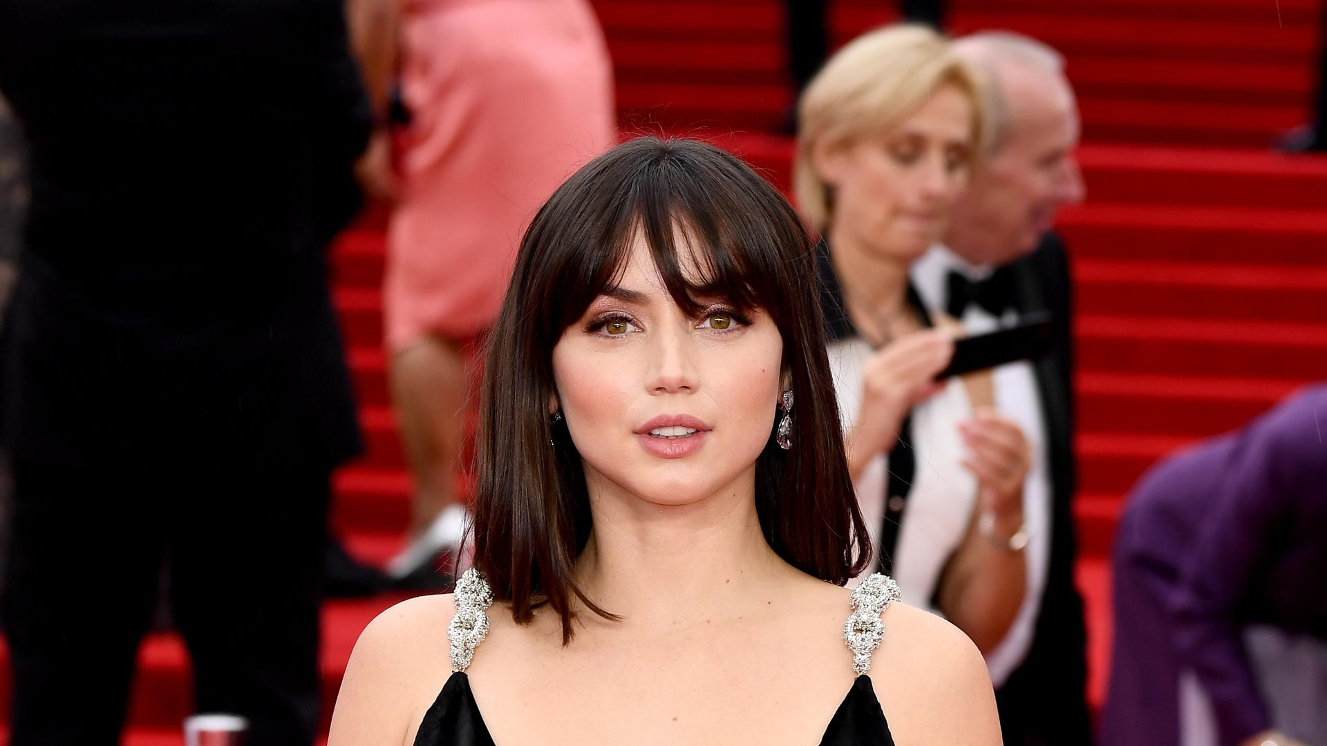 """Ana de Armas attends the World Premiere of """"NO TIME TO DIE"""""""