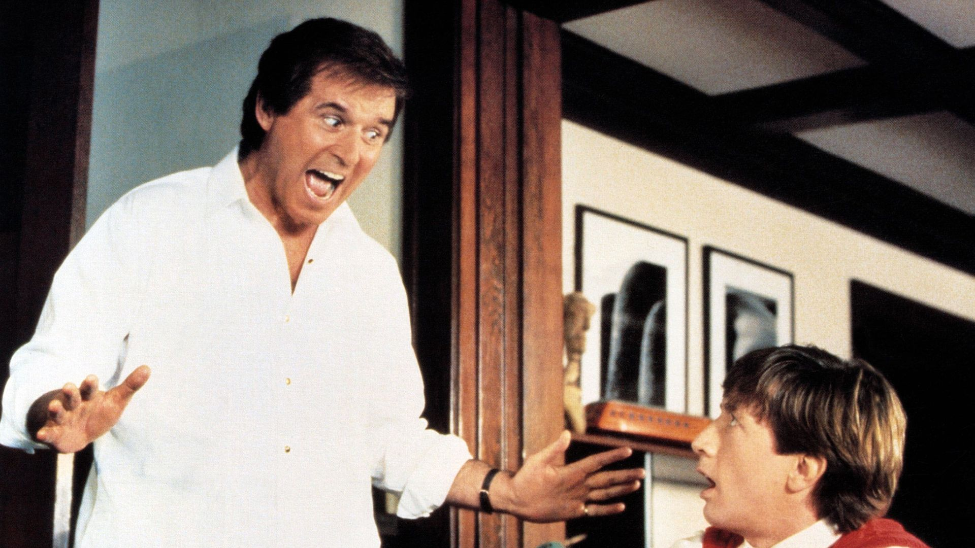 """Charles Grodin and Martin Short in """"Clifford."""""""