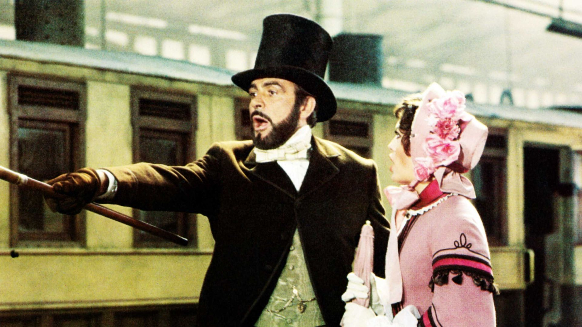 THE GREAT TRAIN ROBBERY, from left: Sean Connery, Lesley-Anne Down, 1979.