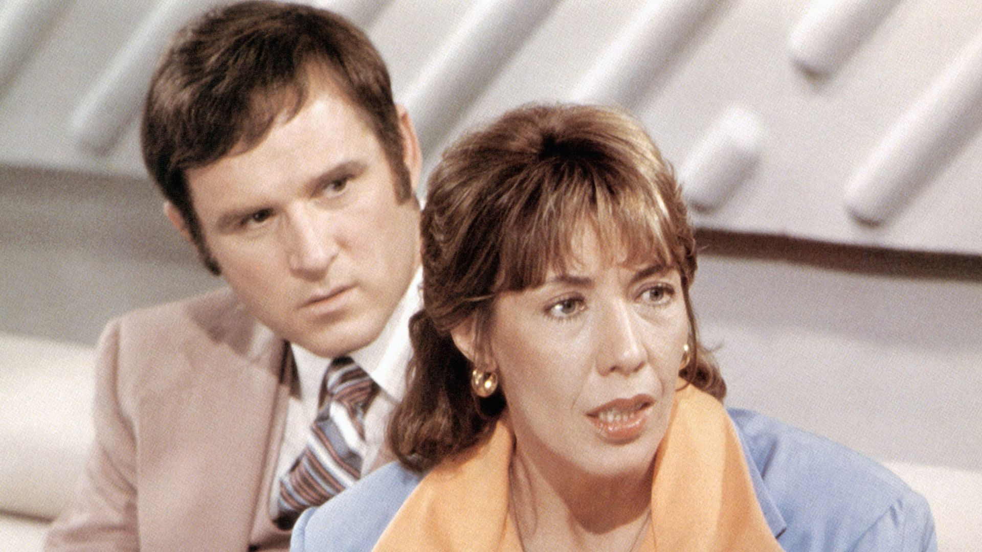 """Charles Grodin, Lily Tomlin in """"The Incredible Shrinking Woman."""""""