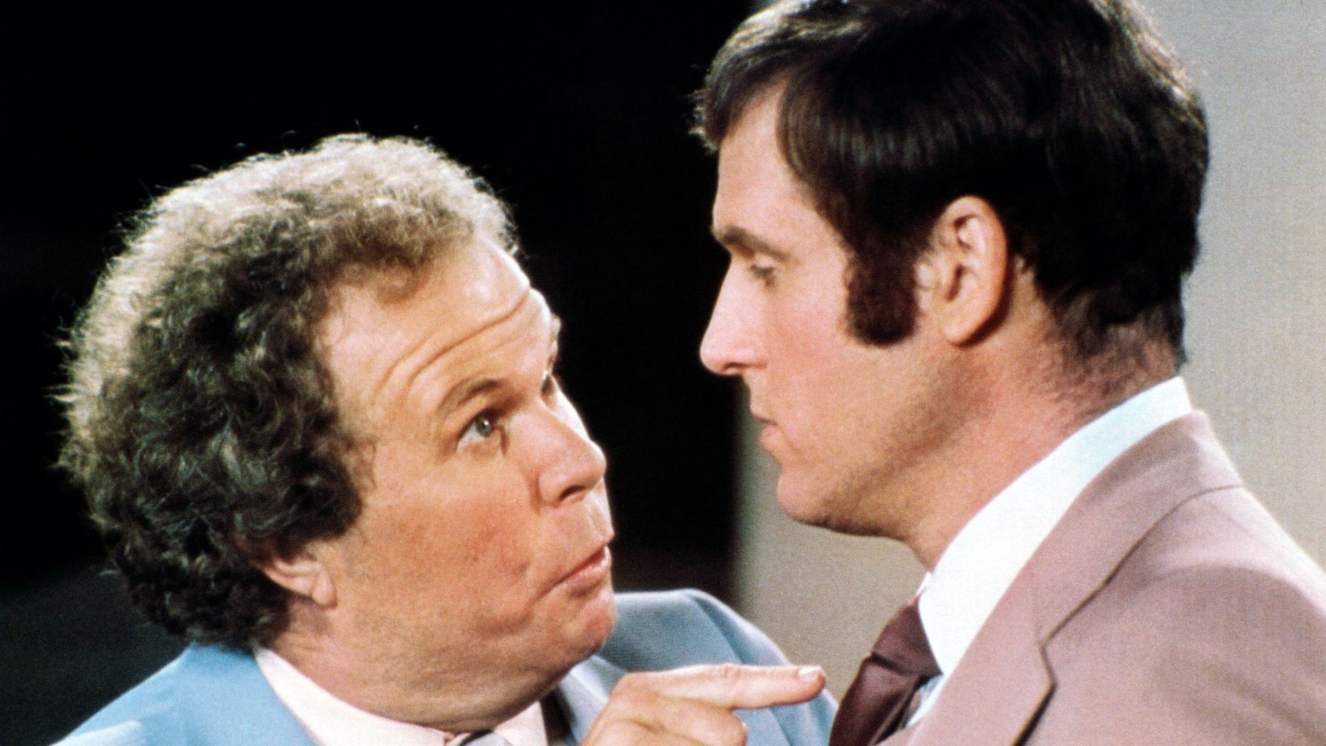 """Ned Beatty, Charles Grodin in """"The Incredible Shrinking Woman."""""""