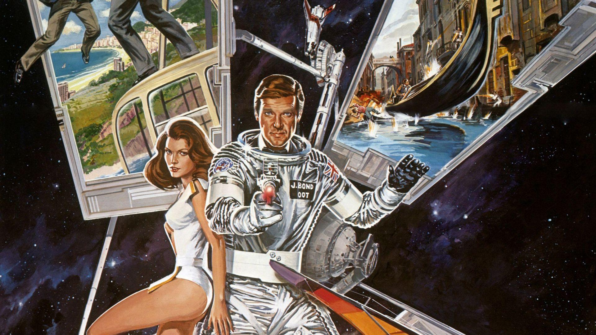 Bond Posters: Moonraker