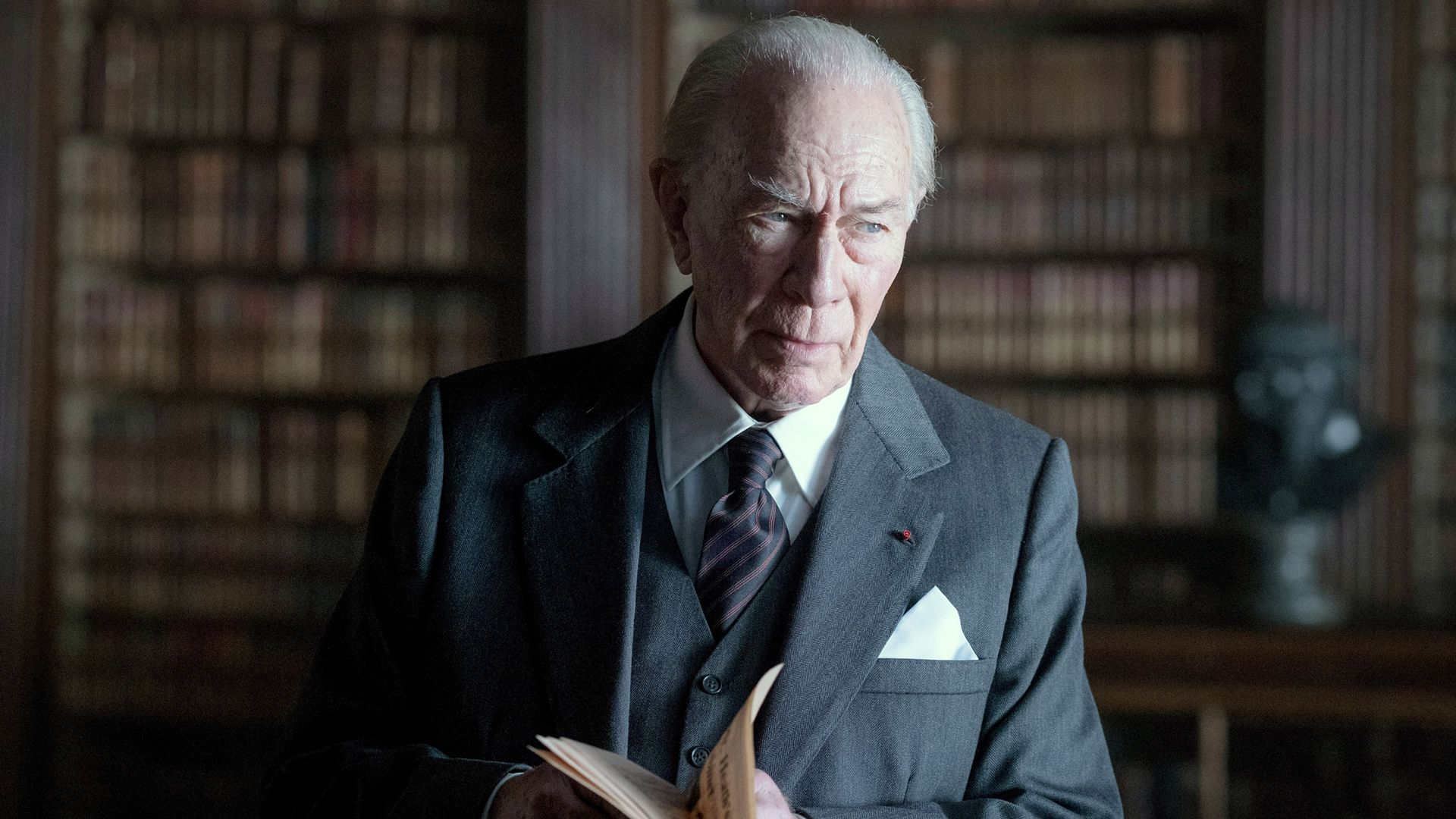 ALL THE MONEY IN THE WORLD, Christopher Plummer, as J. Paul Getty, 2017.